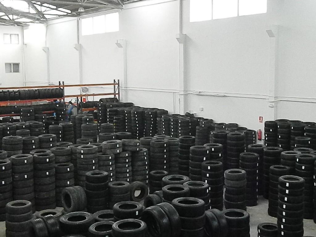 Distribuidor de neumaticos y ruedas usadas